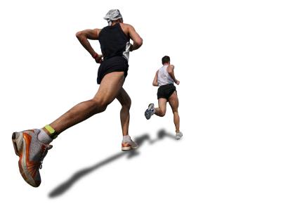 Men running XSmall