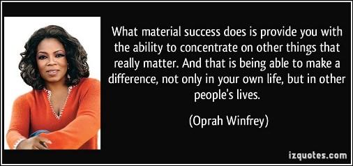 F2f oprah quote