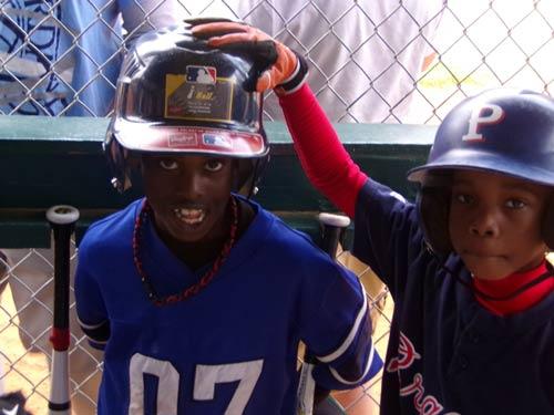 son at baseball