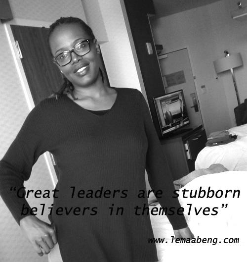 Leadership believe