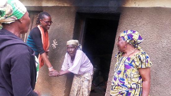 Home with grandma
