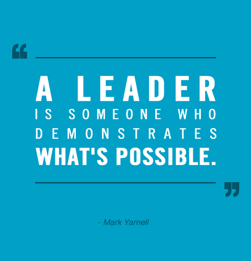 Leadership quote by mark-yarnell