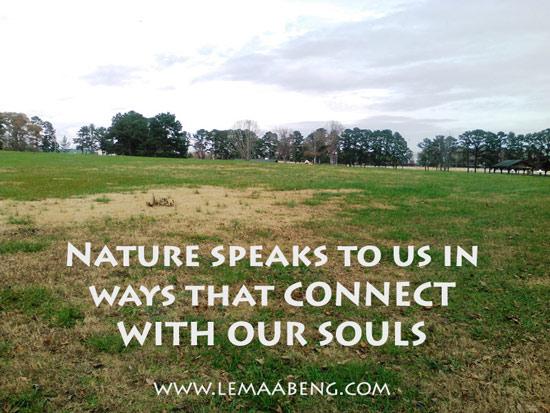 NATURE--quote