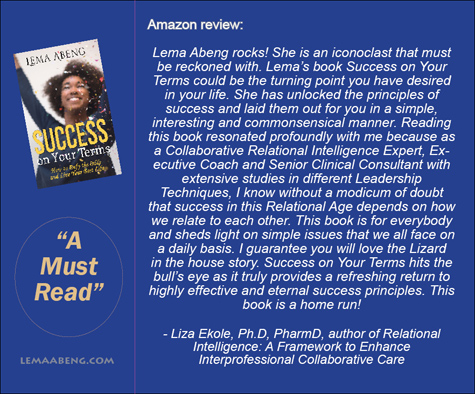Review Success On Your Terms by Dr Liza